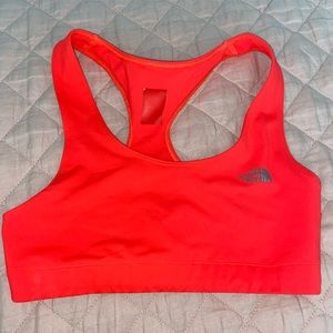 North face athletic sports bra